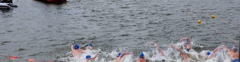 Open water wedstrijden afgelast